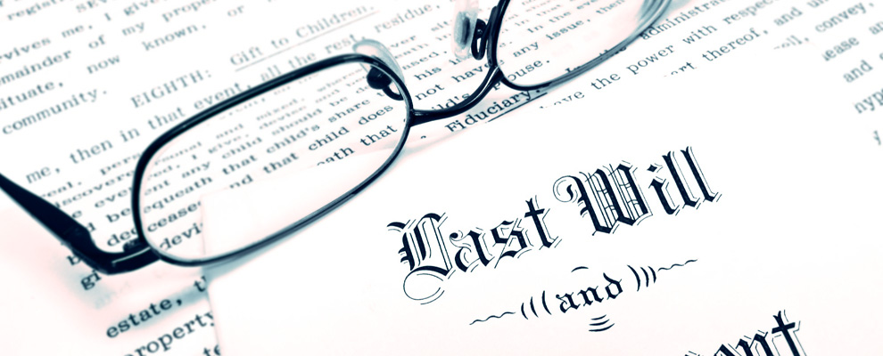 how to make a last will and testament legal